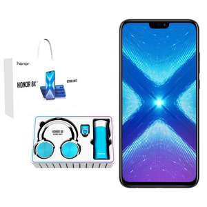 "Smartphone 6.5"" Huawei Honor 8X Dual SIM - Full HD+, Kirin 710, RAM 4Go, 64Go + Casque (Frontaliers Suisse)"