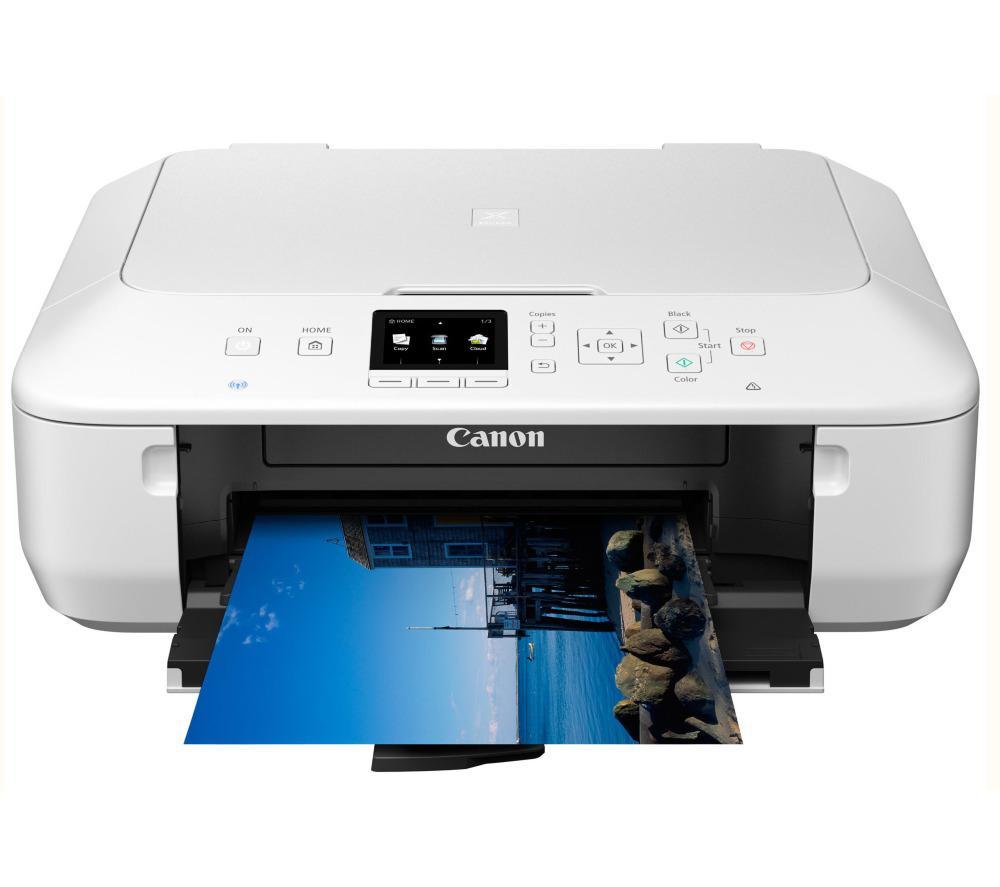 Imprimante multifonction Canon Pixma MG5650 Wifi Blanche (Avec ODR de 20€)