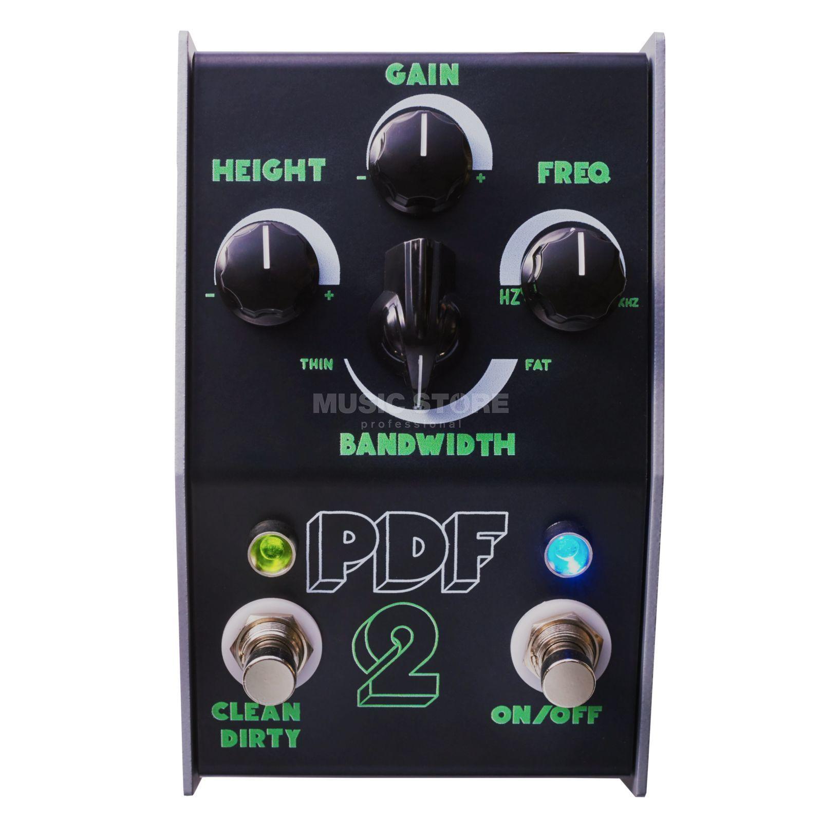 Pédale guitare Stone Deaf FX Parametric Distortion Filter PDF-2
