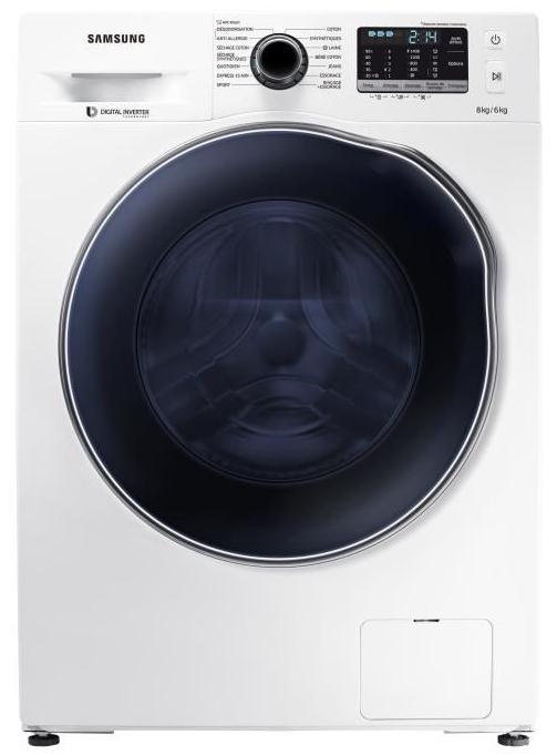Lave linge sechant Samsung WD80J5430AW (via ODR 70€) + 125€ de bons d'achat