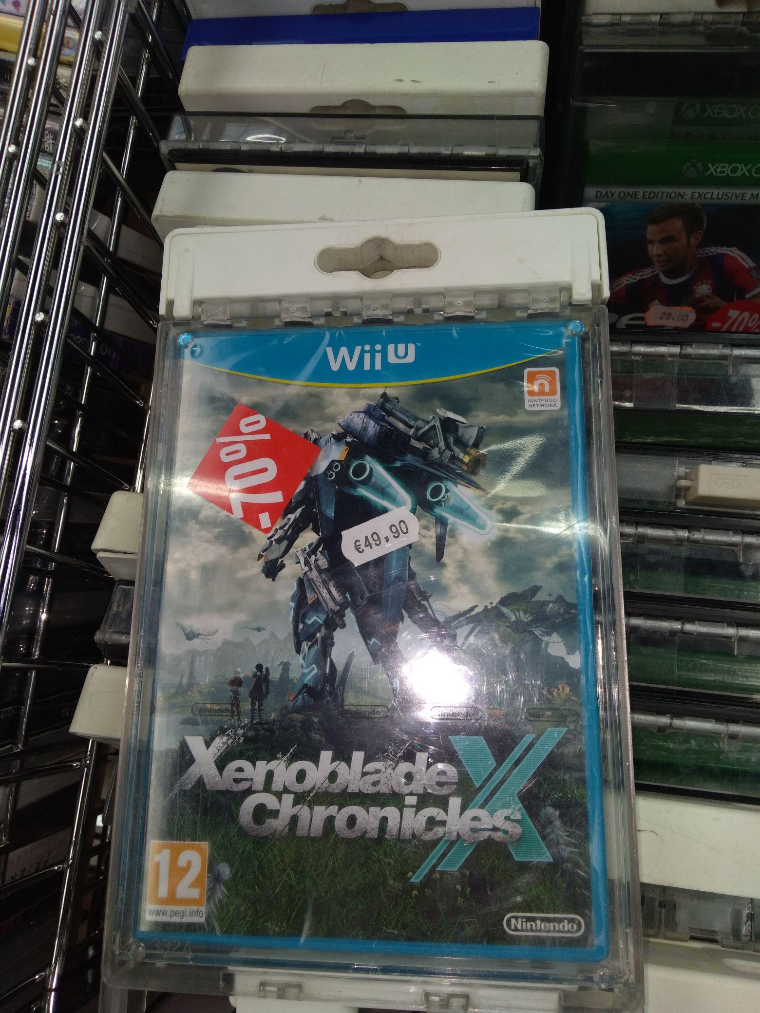 Xenoblade Chronicles X sur Wii U - Wattrelos (59)