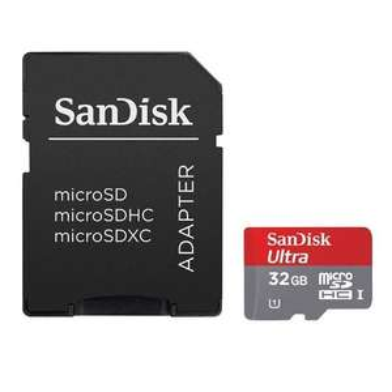 Carte microSDHC SanDisk Ultra 32 Go Classe 10