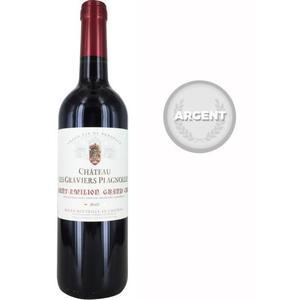Vin rouge de Bordeaux Château Les Graviers Plagnolles 2015 Saint Emilion Grand Cru