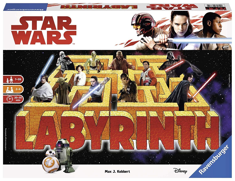 Jeu de société Ravensburger Labyrinthe Star Wars VII