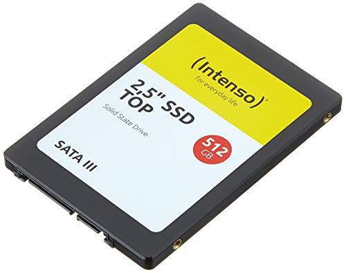 """SSD Interne 2.5"""" Intenso - 512 Go, SATA III"""