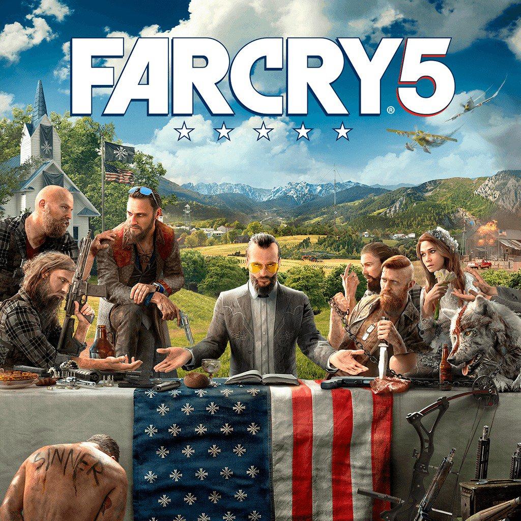 Far Cry 5 sur PC (Dématérialisé - Uplay) +10€ offerts en bon d'achat (valable dès 20€ d'achat)