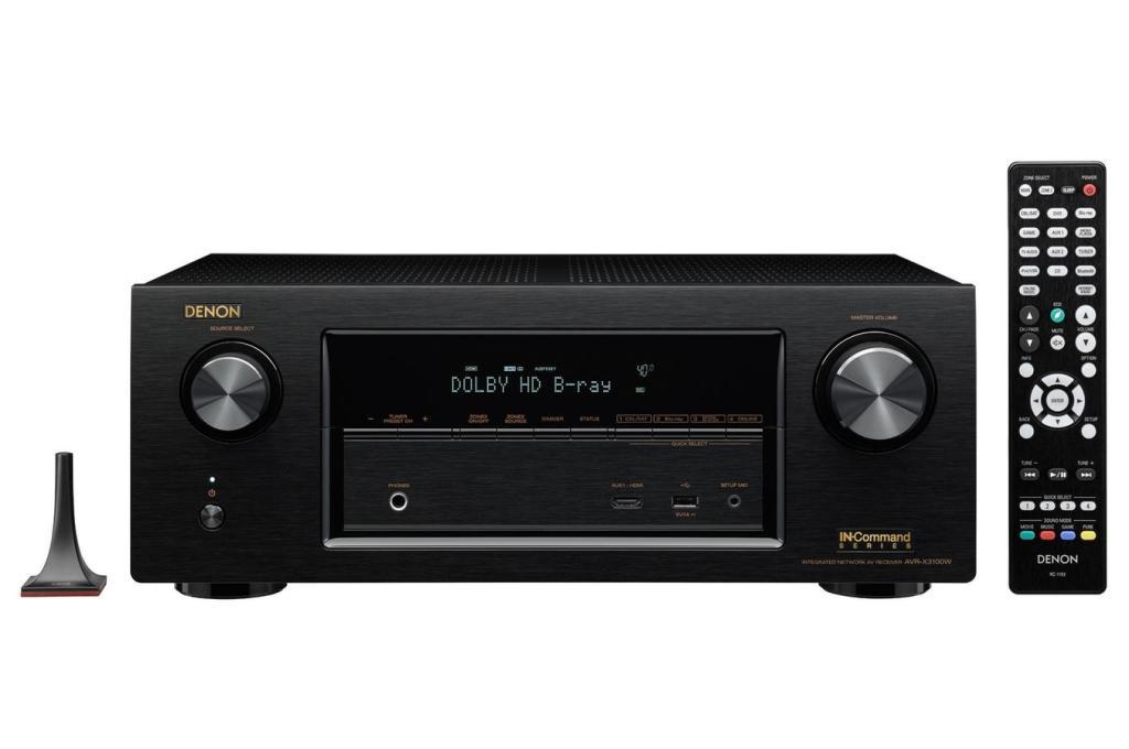 Ampli Home Cinema Denon AVR-X3100W - Noir