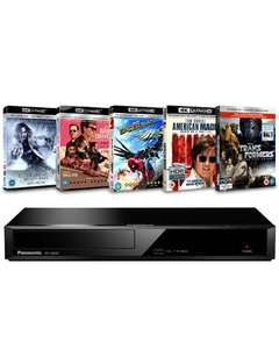 Lecteur Blu-ray 4K Panasonic DP-UB391EB + 5 films 4K UHD