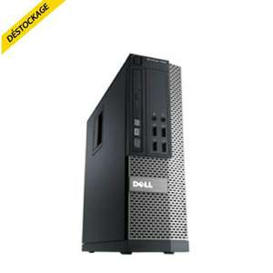PC reconditionné Dell Optiplex 7010-d03s (i5-3570, 500 Go, 4 Go RAM, W7 Pro)