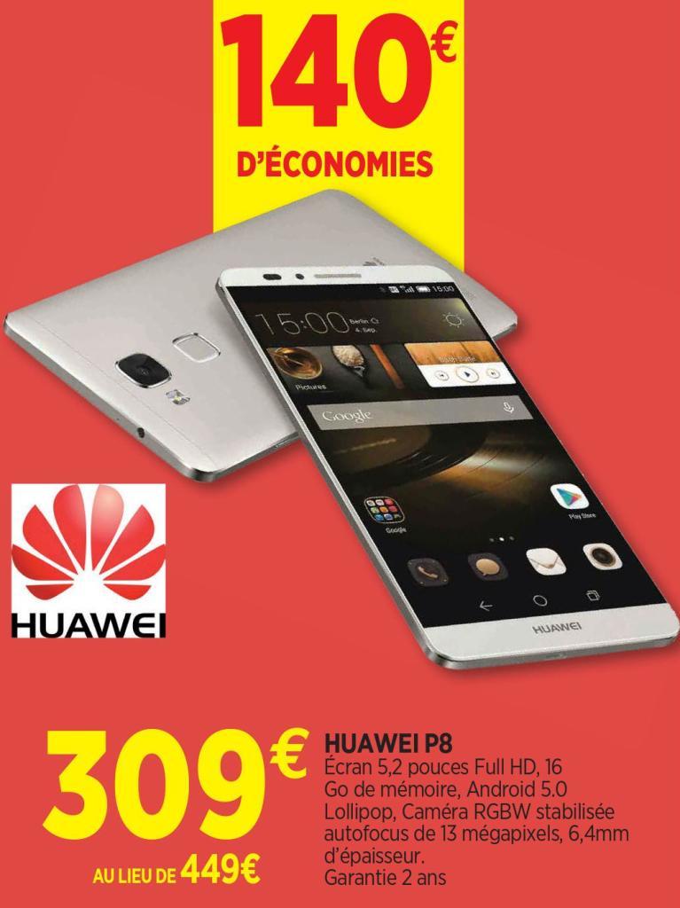 "Smartphone  5.2"" Huawei P8"