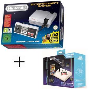 Console Nintendo Classic Mini NES + Joystick Edge + Livre de code de triche