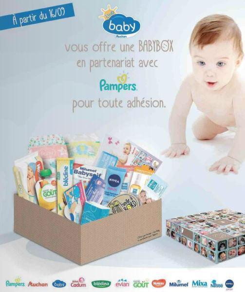 BabyBox gratuite pour les 20 000 nouveaux inscrits au Club Baby