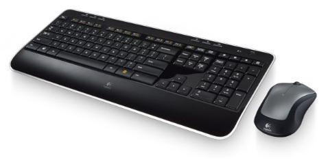 Pack clavier + souris Logitech Wireless Combo MK520