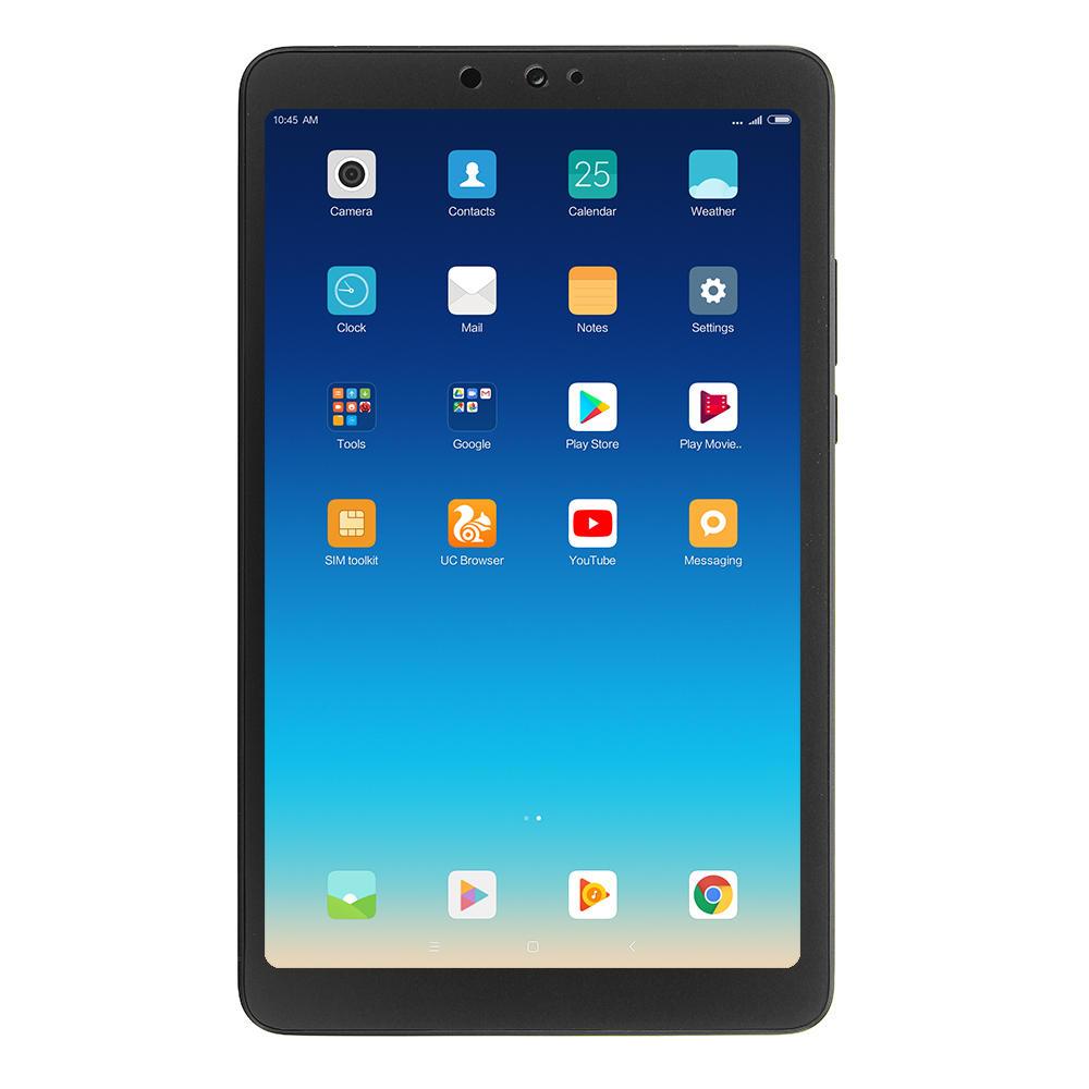 """Tablette Xiaomi Mi Pad 4 -  8"""", 3 / 32 GO - noir ou rose"""