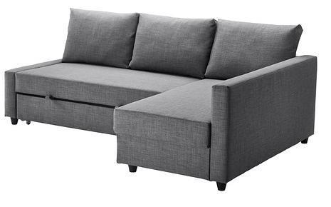 détaillant en ligne ebdf7 528b9 Ikea Family] Canapé convertible d'angle Friheten - Gris ...