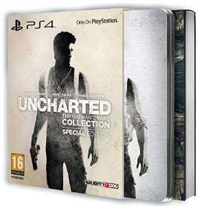 Uncharted : The Nathan Drake Collection - édition spéciale PS4 (Playstation 4) + ArtBook 48 pages
