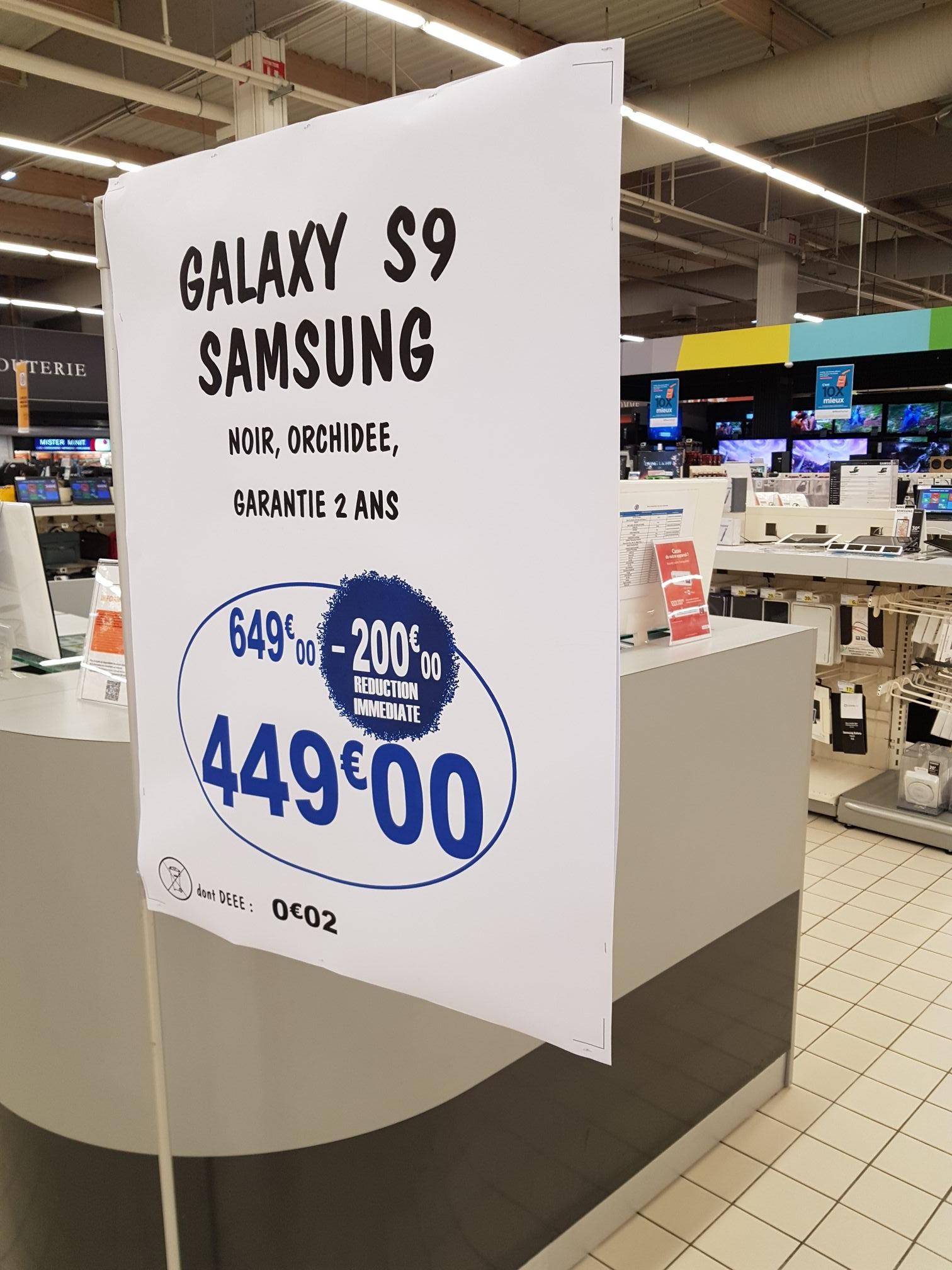 "Smartphone 5.8"" Samsung Galaxy S9 - 64 Go, Leclerc Saint-Orens (31)"