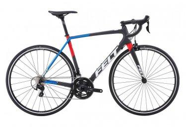 Vélo de Route Felt FR5 Shimano 105 11V 2019 - Noir / Bleu / Rouge