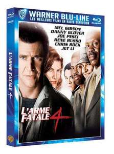 Sélection de Blu-Ray en promotion - Ex : L'Arme Fatale 4, Demolition Man, Ocean's Eleven...