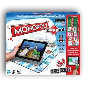 Jeu de société Monopoly Zapped (Compatible iPad, iPhone ou iPod touch)avec ODR (50%)