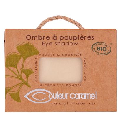 Fard à paupières bio - plusieurs couleurs au choix - marque couleur caramel