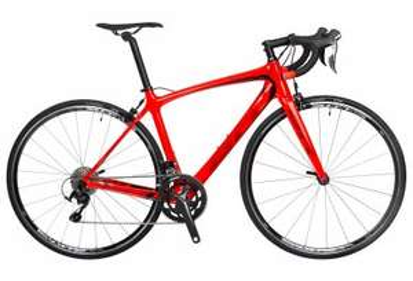 Vélo de Route BH Fusion Shimano 105 11V 2018 - Rouge / Noir