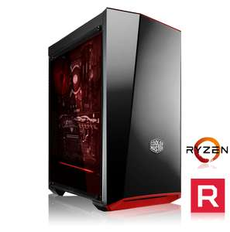 Tour PC Fixe Gaming Messe - Ryzen 5 2600, RX 580 8Go, RAM 8Go, 1To + SSD 128Go, Alim. 550W (784,9 avec RTX 2060) (memorypc.de)