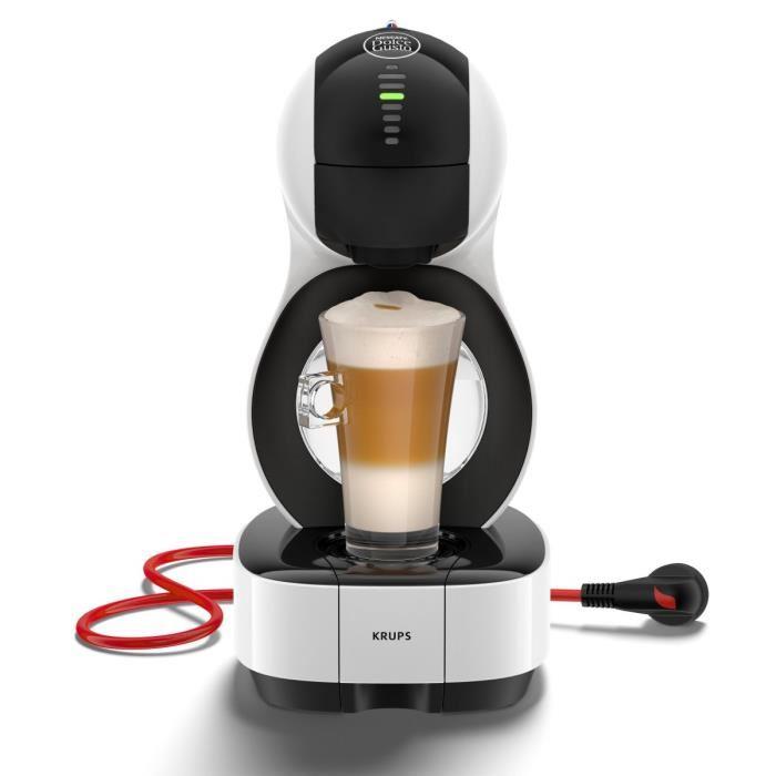 Machine à Café Krups Nescafé Dolce Gusto Lumio YY3042FD - Blanc + 3 Boites de café Dolce Gusto (via ODR de 50€)
