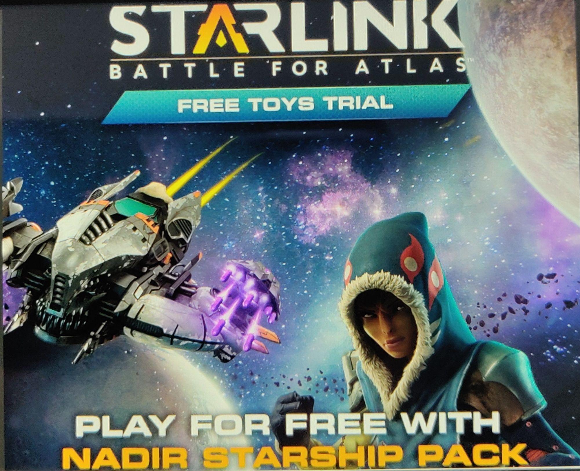 Essai gratuit du pack Nadir pour Starlink sur Nintendo Switch (dématérialisé)