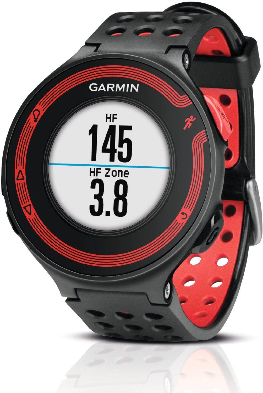 Montre de running avec GPS intégré Garmin Forerunner 220 - Noir/Rouge