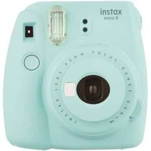 Fujifilm Instax mini 9 bleu iceberg (+4,13€ en SuperPoints via l'application - 49€ avec le code R1059)