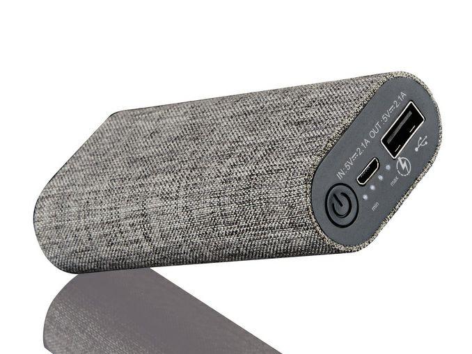 Batterie Externe 5200 mAh  - 1 Port USB ou Câble charge 3-en-1