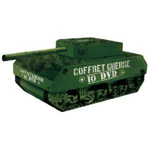 "Coffret guerre ""tank"" - 10 DVD"