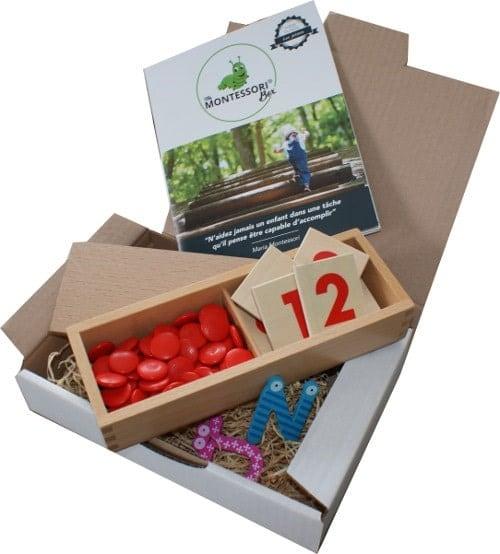 Montessoribox chiffres et jetons (vendeur tiers)