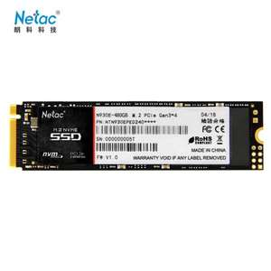 SSD interne M.2 / NVMe 2280 Netac N930E - 480 Go