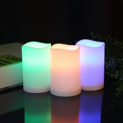 Bougies LED Utorch 3 pièces avec télécommande