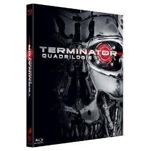 [Blu-ray] Terminator, l'intégrale (1, 2, 3 et 4) - Edition limitée