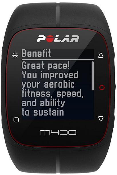 Montre running Polar M400 HR avec ceinture cardio