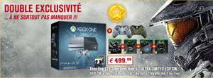 Pack Xbox One 1 To Halo Ultra limited Edition (2 manettes, 5 Jeux) en magasin