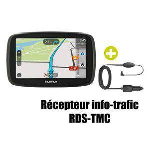 """GPS 6"""" TomTom Start 60 TMC 45 pays - Cartes & Trafic gratuits à vie"""