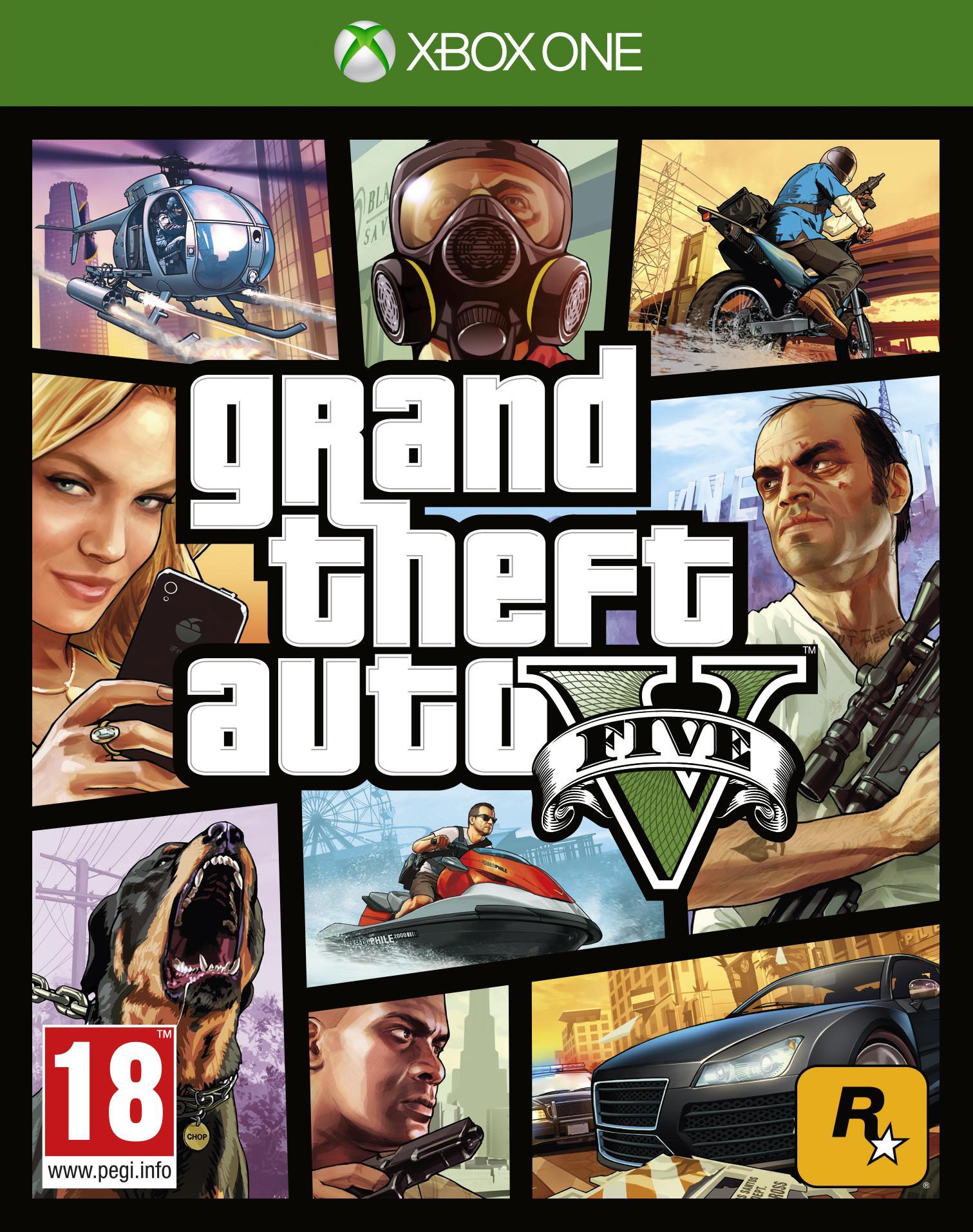 Call Of Duty Advanced Warfare et GTA V sur Xbox One à l'unité
