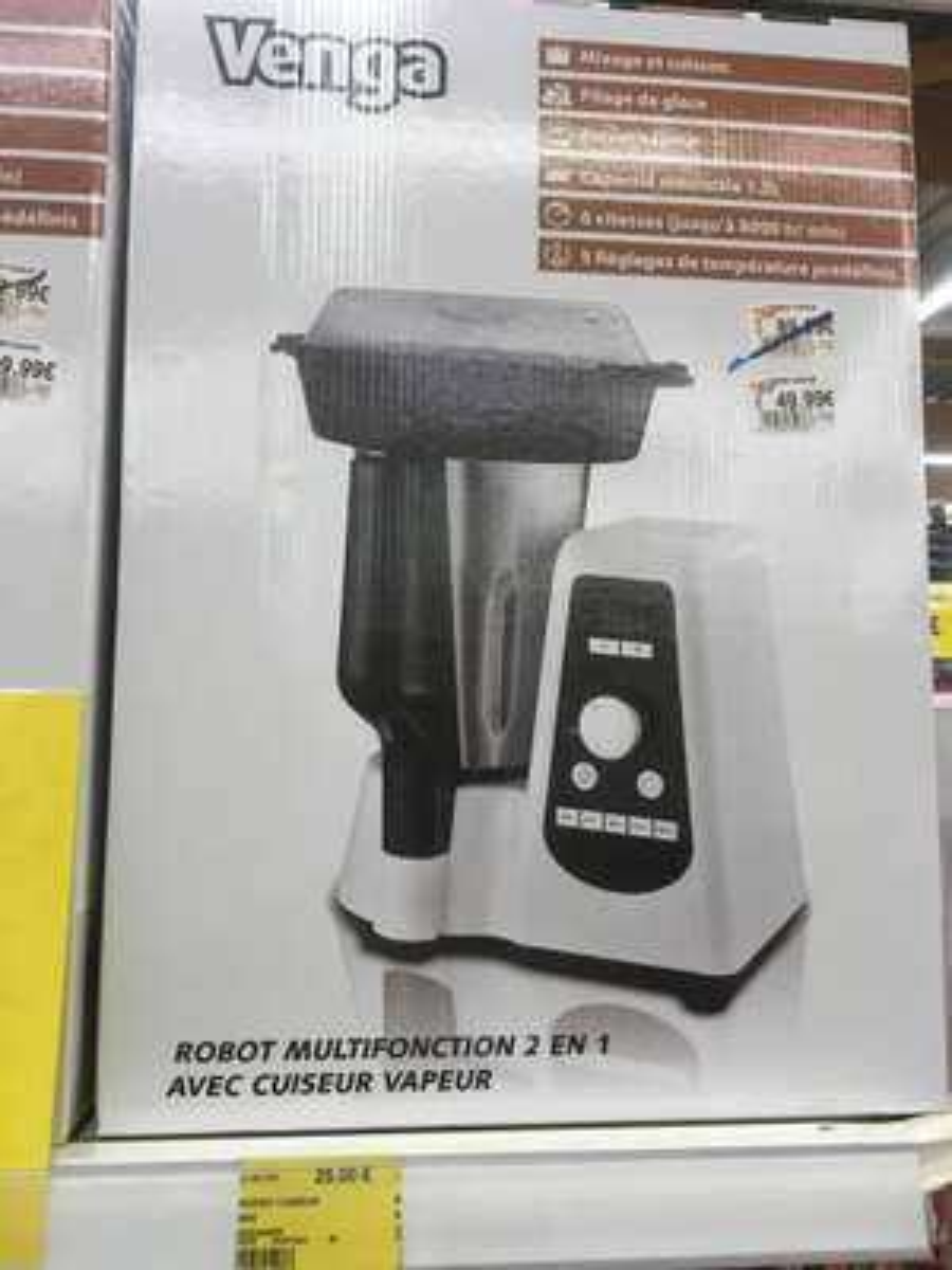 Robot cuiseur mixeur Venga 1.5L - Mers les Bains (80)