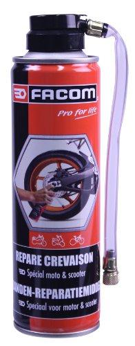 [Panier Plus] Bombe Aérosol Répare-crevaison Facom 006091 pour Motos & Scooters - 250ml