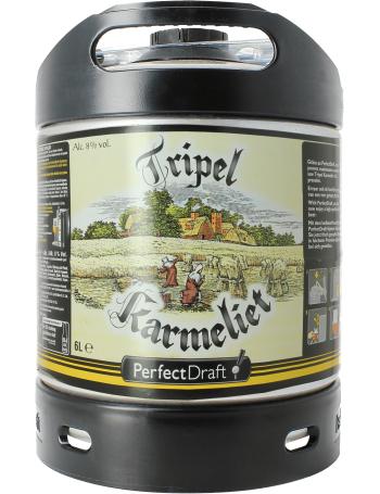 Fût de bière PerfectDraft Tripel Karmeliet - 6L (consigne inclus)