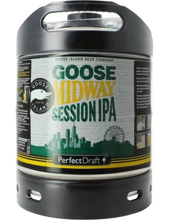 Fût de bière PerfectDraft Goose Midway Session - 6L (Consigne incluse)