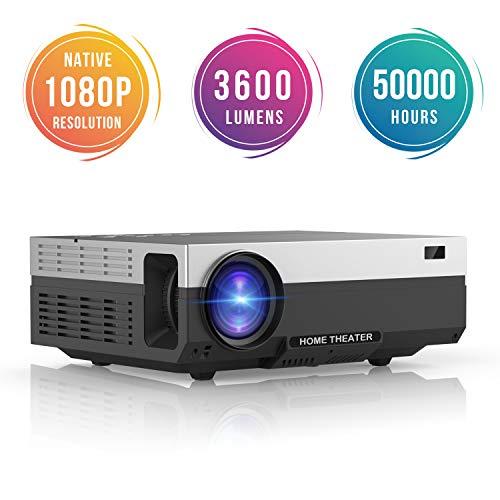 Vidéoprojecteur Full HD BeamerKing - LED, 3600 Lumens, HDMI/VGA/USB/AV (vendeur tiers)