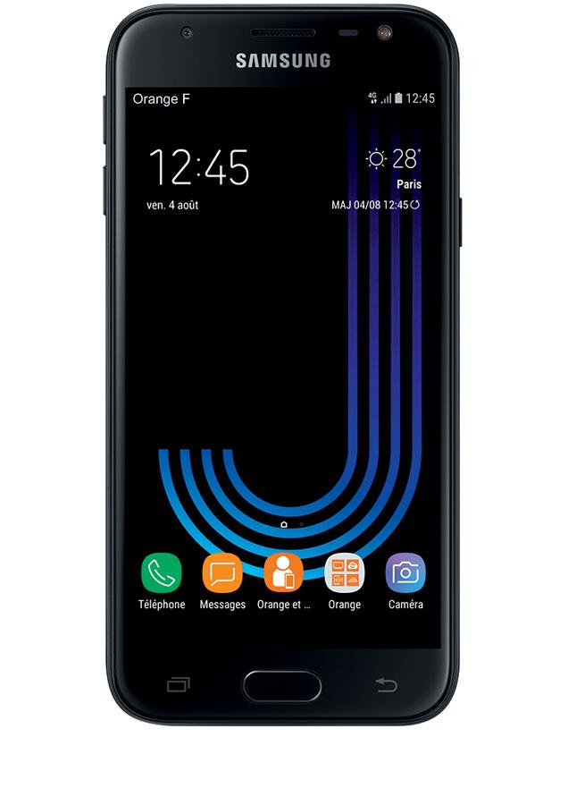 """Smartphone 5"""" Samsung Galaxy J3 (2017) - HD, Exynos 7570, 2 Go de RAM, 16 Go (via ODR de 30€)"""