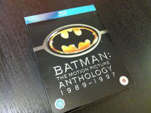 11 Blu-Ray : Coffret Anthologie Batman + Trilogie Very Bad Trip + Coffret 4 films Leonardo Dicaprio
