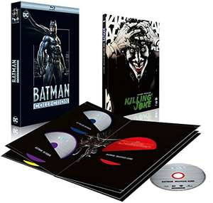 Coffret blu-ray Batman Collection : The Dark Knight 1 & 2 + Year One + The Killing Joke + Le fils de Batman + Batman vs. R n + Mauvais sang