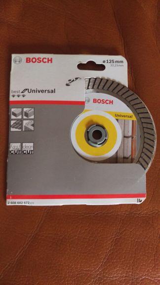 Disque à diamant Bosch Universal 125mm - Chambly (60)